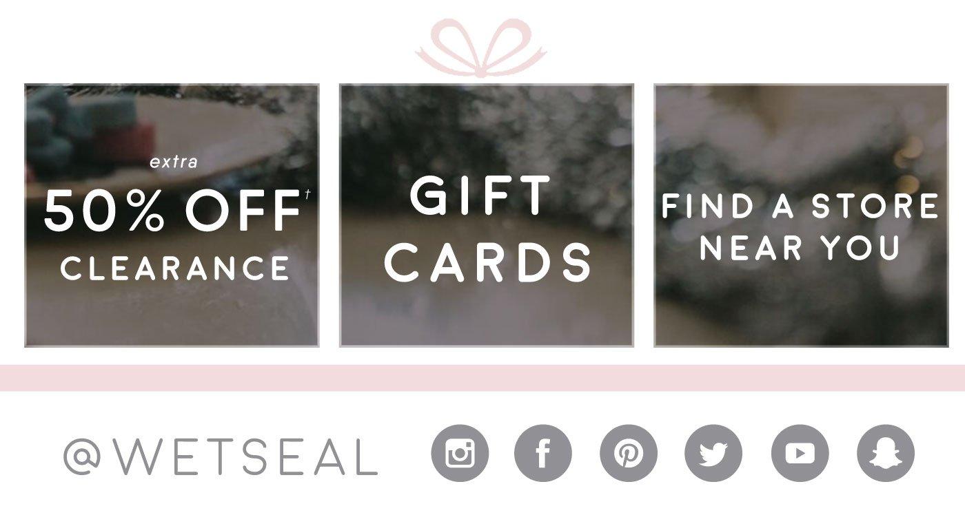 Wet seal fashion insider card 36
