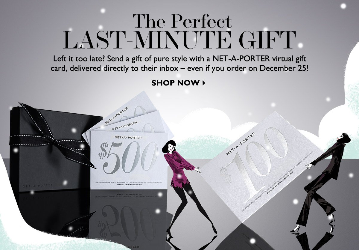 Net-A-Porter: The perfect last-minute gift | Milled