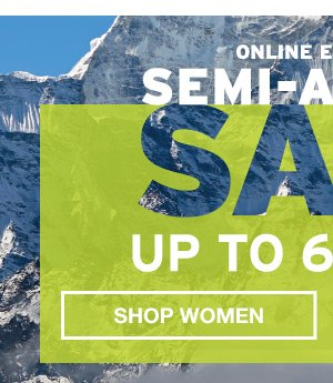 SEMI-ANNUAL SALE UP TO 60% OFF | SHOP WOMEN