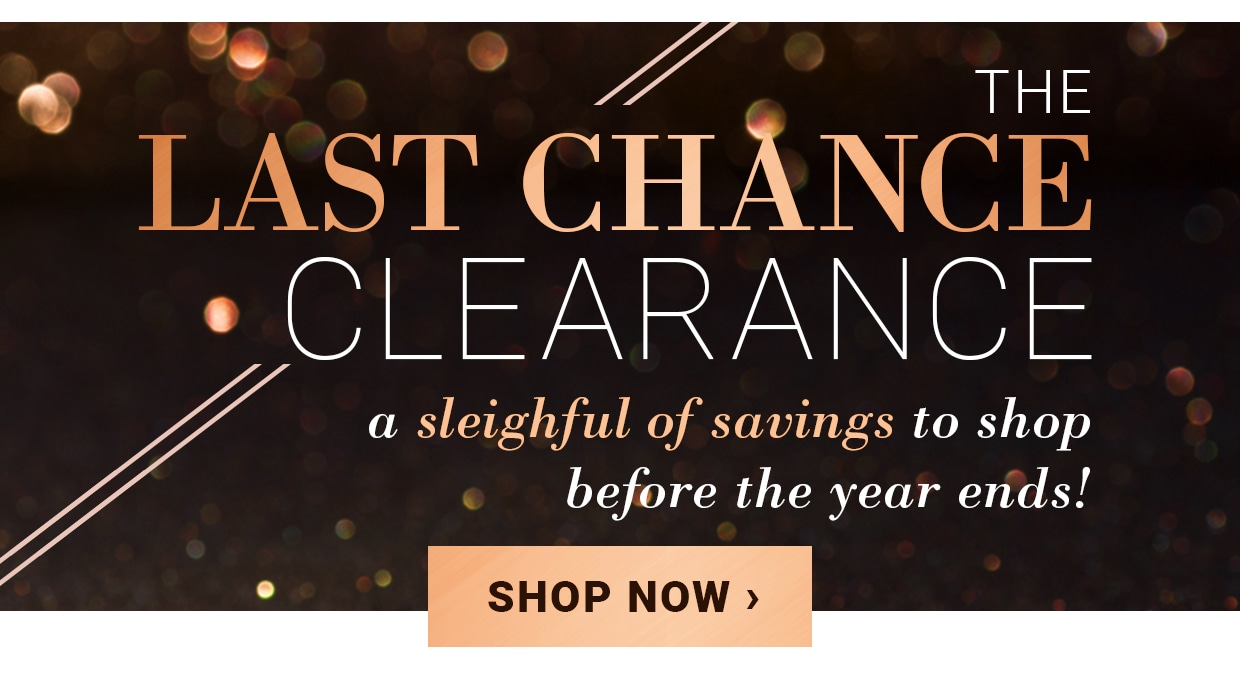 Last Chance Clearance