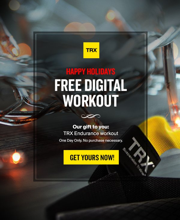 Trx Training Our Gift To You Free Workout Download Milled