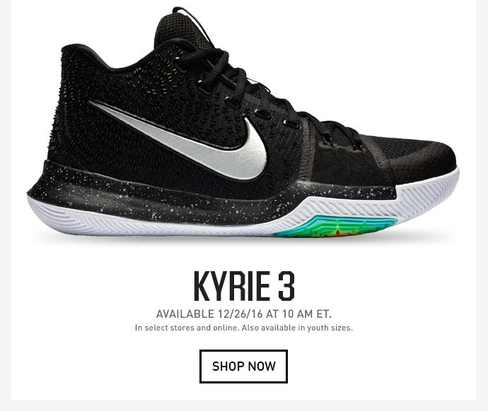 huge discount fb4e1 125ee Dick's Sporting Goods: JUST DROPPED: Kyrie 3 | Milled