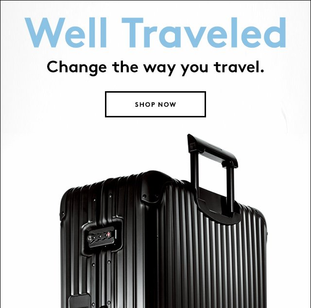 From Rimowa, Bric's, and more.