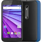Moto G XT1540 3rd Gen 8GB Smartphone (Unlocked, with Additional Blue Shell)