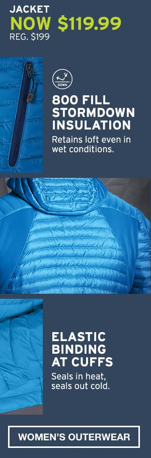 MICROTHERM STORMDOWN | SHOP WOMEN