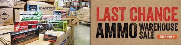 Ammo Warehouse Sale! Last Chance!