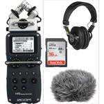 H5 Handy Recorder Kit with Headphones & Accessories