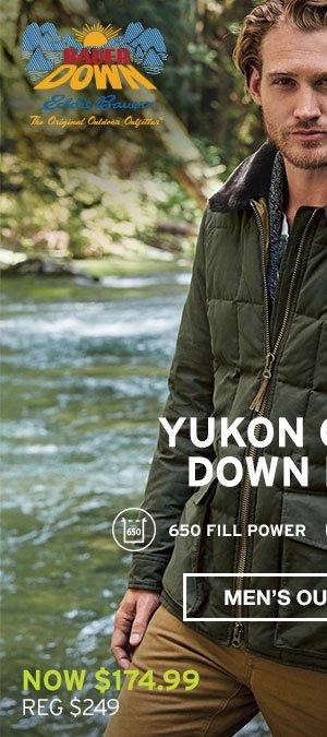 YUKON CLASSIC DOWN PARKA| MEN'S OUTERWEAR