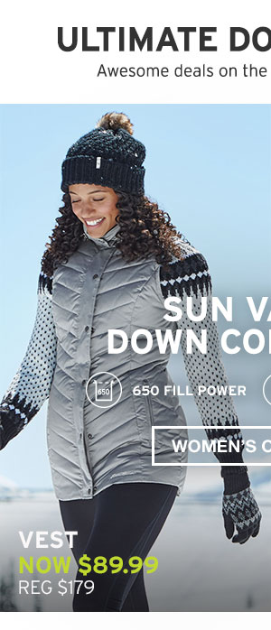 SUN VALLEY DOWN COLLECTION | WOMEN'S OUTERWEAR