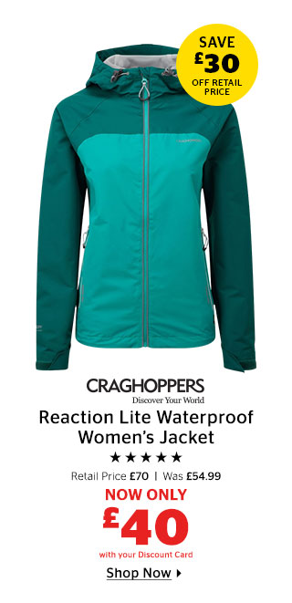 Craghoppers Reaction Waterproof