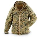 U.S. Military Surplus Marpat Level 7 ECW Hooded Combat Jacket, New