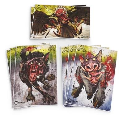 8-Pk. of Zombie Flake-Off Animal Targets