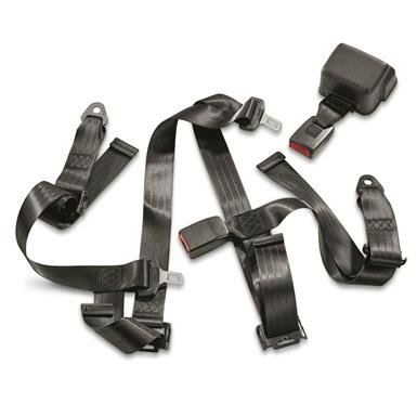 U.S. Military Issue 4 Point Racing Style Seat Belt Kit, New