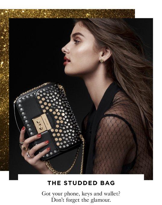 THE STUDDED BAG