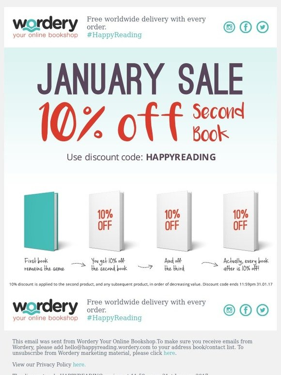 wordery new year new books our january sale starts today milled