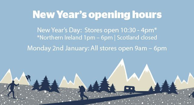 New Year's Day Opening Times