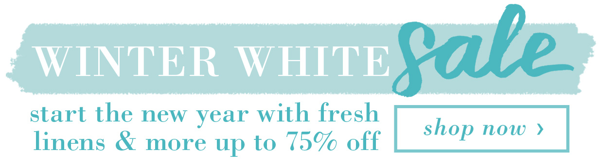 Winter White Sale Banner A