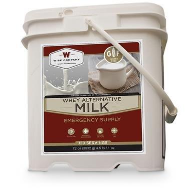 Wise Foods Milk, 120 Servings