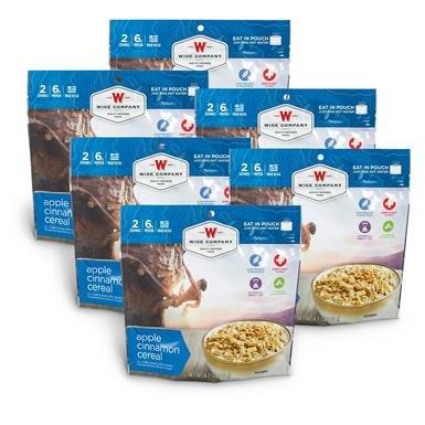Wise Apple Cinnamon Cereal, 6 Pack
