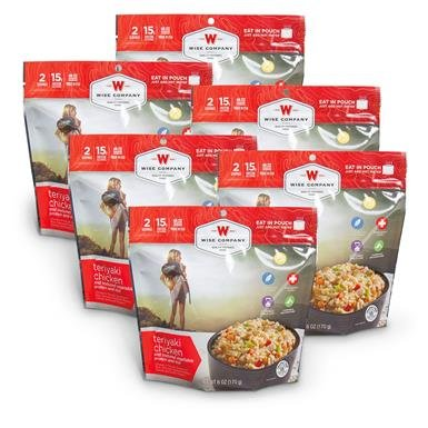 Wise Teriyaki Chicken with Rice, 6-Pk.