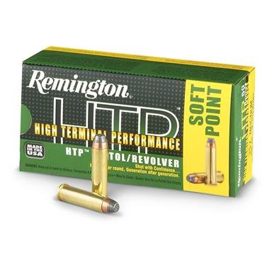 Remington High Terminal Performance, .357 Magnum, SJHP, 110 Grain, 50 Rounds