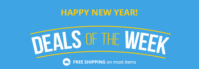 Happy New Year! Deals of the Week