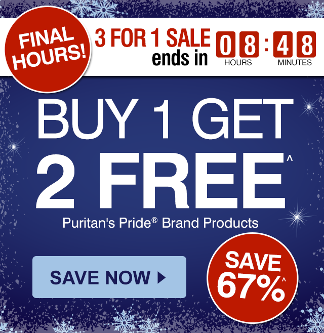 Puritan's Pride | December Promo Codes, Sales, And Discounts Puritan's Pride coupon codes and sales, just follow this link to the website to browse their current offerings. And while you're there, sign up for emails to get alerts about discounts and more, right in your inbox. Hey smart shopper/5(5).