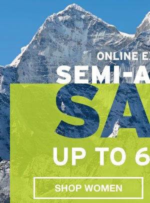 SEMI-ANNUAL SALE | SHOP WOMEN