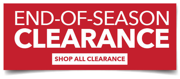 End-of-Season Clearance. Shop All Clearance.