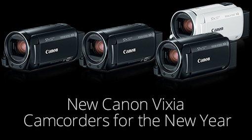Canon Vixia camcorders