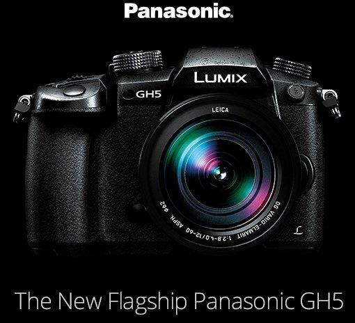 The New Flagship Panasonic GH5