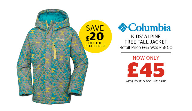 Columbia Kids' Alpine Free Fall Jacket