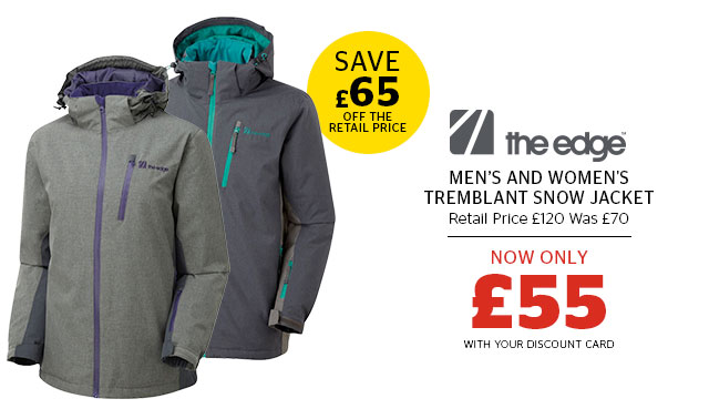 The Edge Men's and Women's Tremblant Snow Jacket