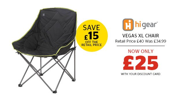 Hi Gear Vegas XL Chair