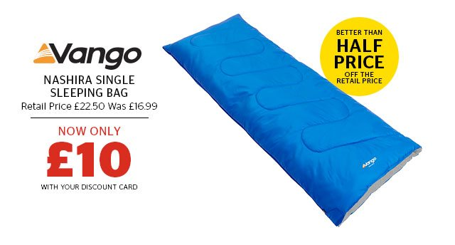 Vango Nashira Single Sleeping Bag