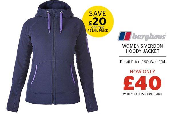 Berghaus Women's Verdon Hoody Jacket