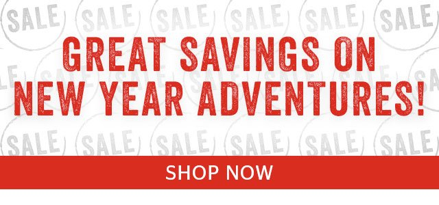 Great Savings On New Year Adventures