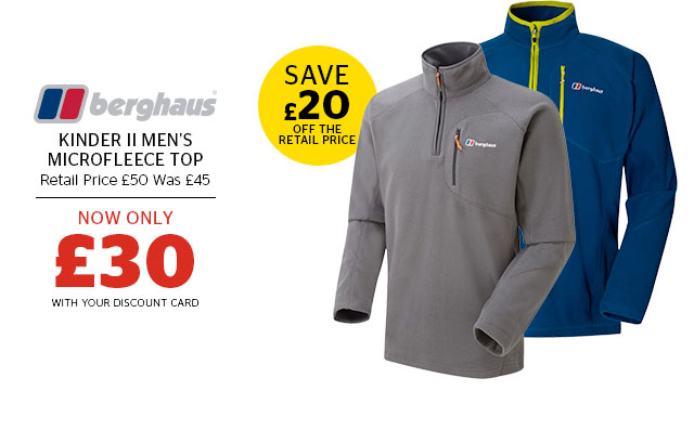 Berghaus Kinder II Men's Microfleece Top