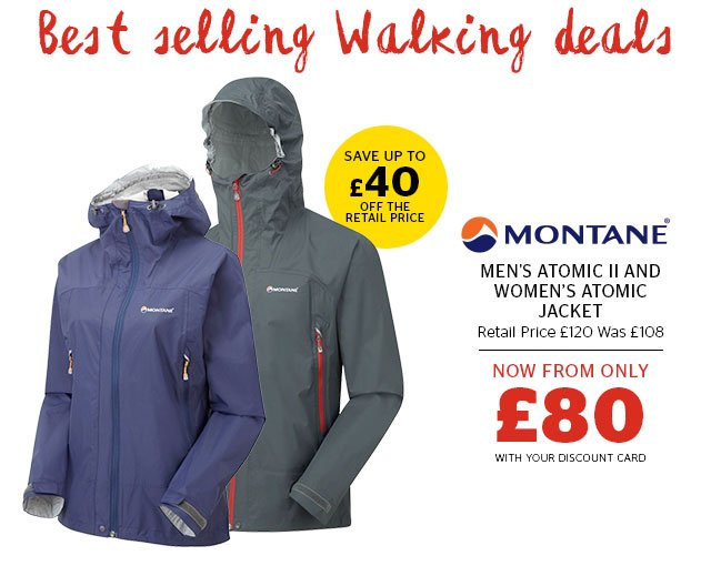 Montane Men's Atomic II and Women's Atomic Jacket