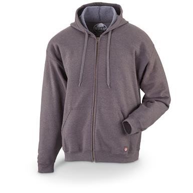 Red Kap Men's Workwear Zip Fleece Hoodie