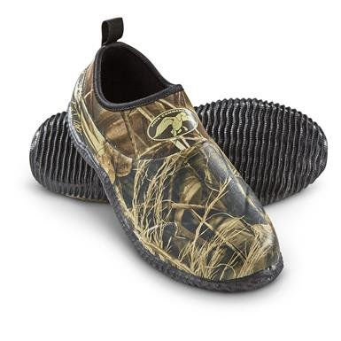 Duck Commander Men's Mon-Roe Slip-on Rubber Shoes, Waterproof