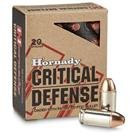 Hornady Critical Defense, .45 ACP, FTX, 185 Grain, 20 Rounds
