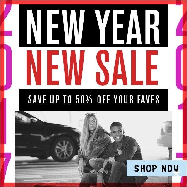 New Year. New Sale. Shop the Journeys Clearance Sale Now!
