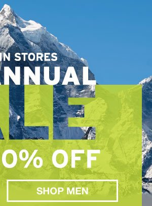 SEMI-ANNUAL SALE | SHOP MEN