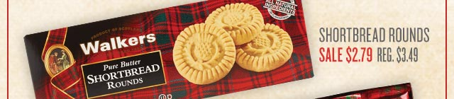 Walkers Shortbread Rounds ›