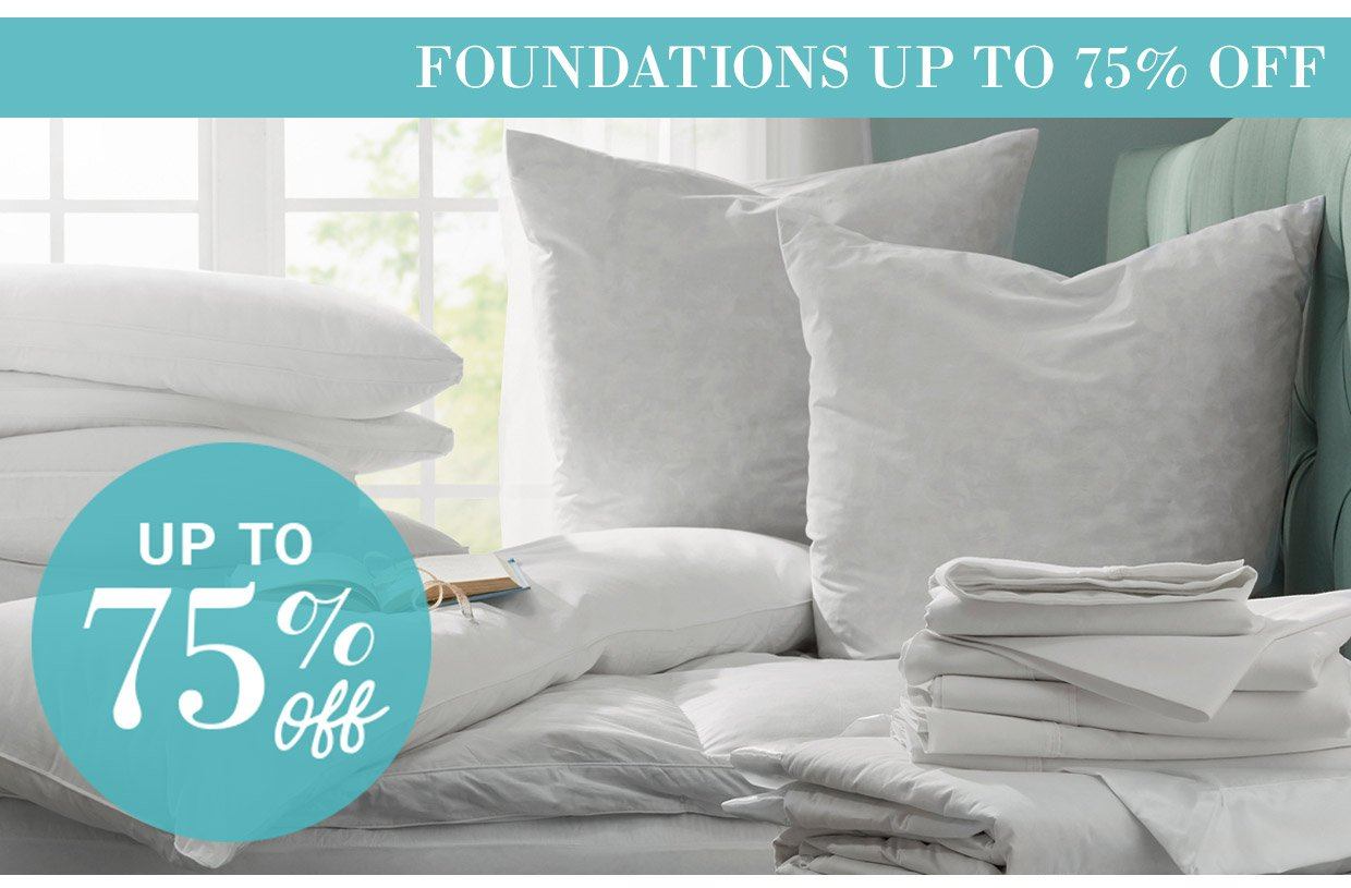 FOUNDATIONS UP TO 75% OFF