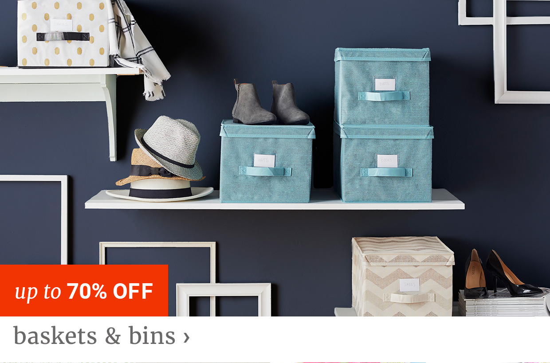 Baskets & Bins