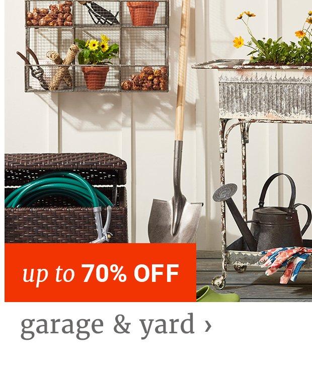 Garage & Yard