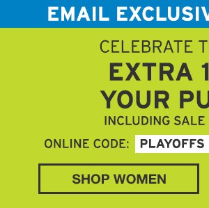 EXTRA 10% OFF YOUR PURCHASE | SHOP MEN