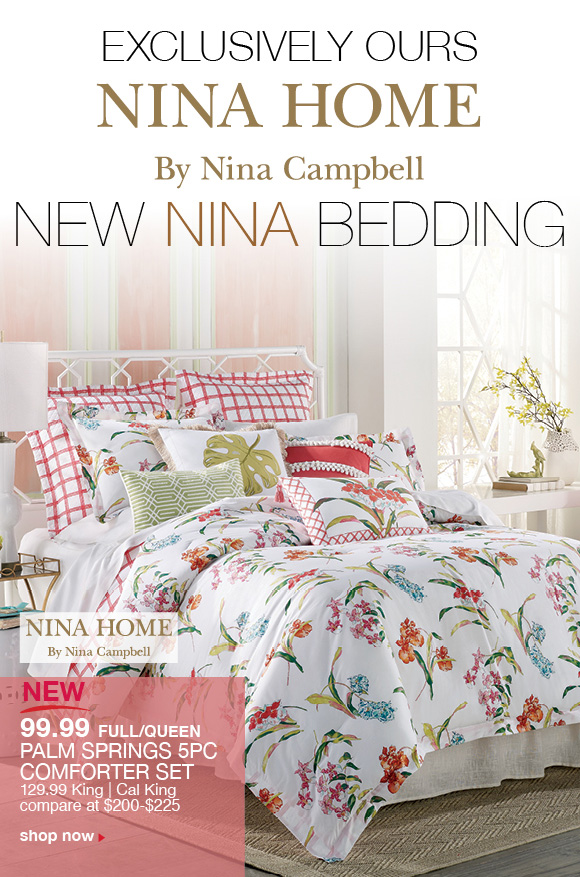 Stein Mart New Nina Campbell Bedding Only At Stein Mart Milled